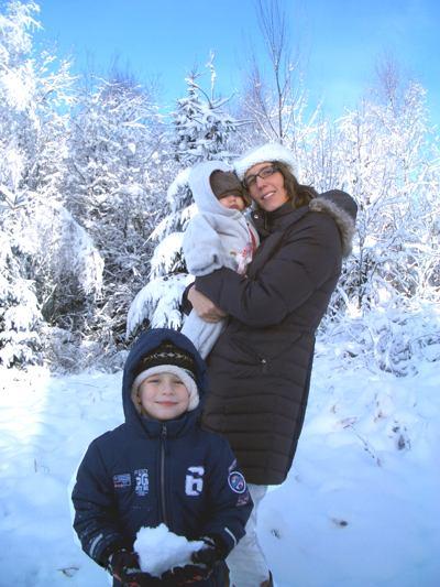 Silberborn im Solling mit Mama und Vince.