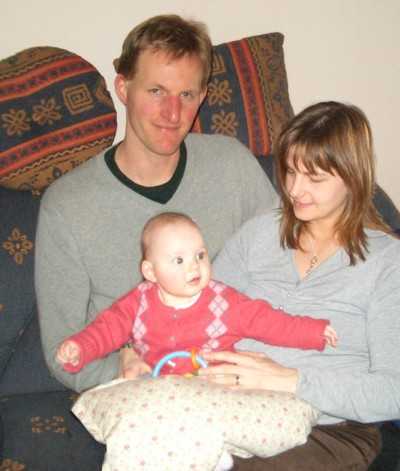 Mila mit Jens und Bettina